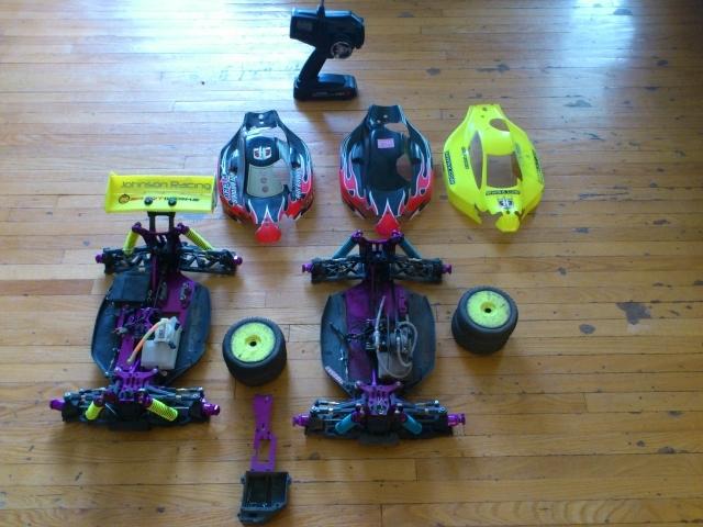 Two 1/8 Scale Buggies - Hot Bodies Lightning II