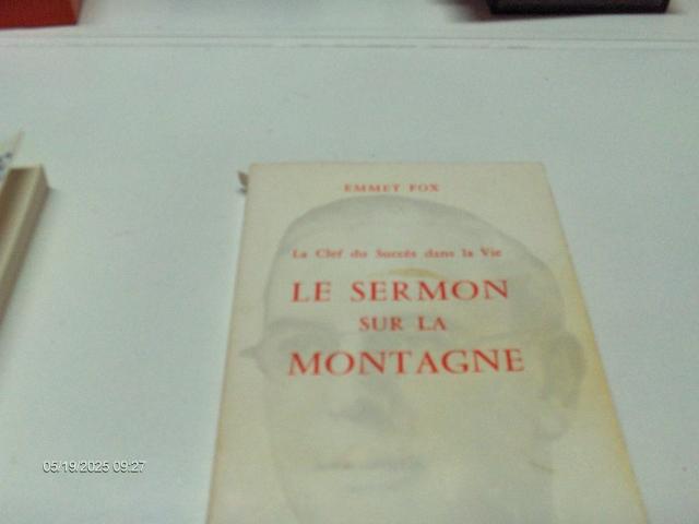 #291 LE SERMON SUR LA MONTAGNE EMMET FOX
