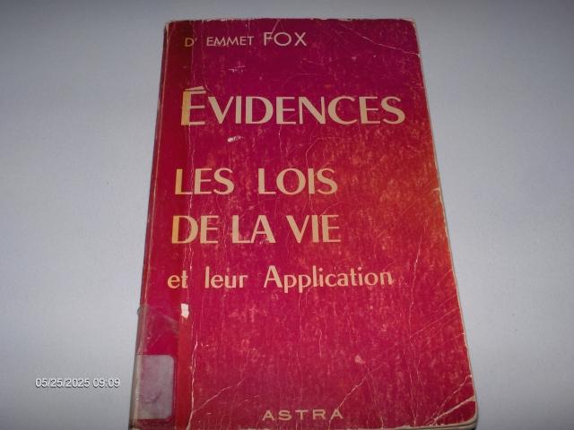 #307 ÉVIDENCES LES LOIS DE LA VIE ET APPLICATION