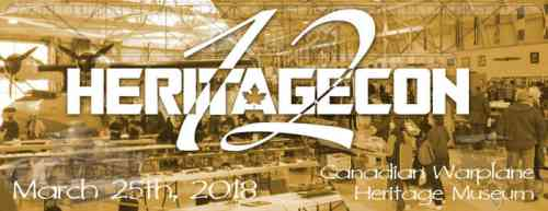 Heritagecon 12 Scale Model Show & Contest 2018