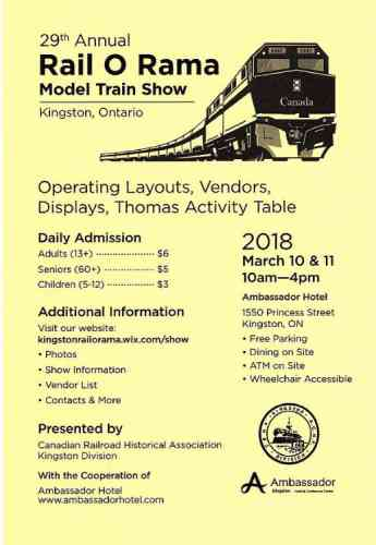 Rail O Rama 29th Model Train Show 2018