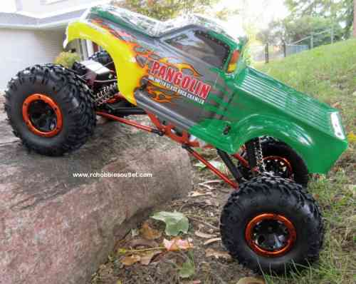 New RC Rock Crawler Truck with 4 Wheel Steering. 4WD 1 YR Warr