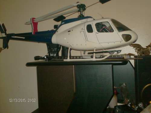 HELICO A STAR SIZE 600 AU NITRO BNF COMPLETTE.